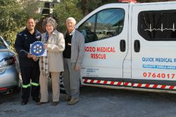 Rotary supports Sozo Ambulance