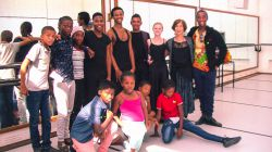 Young Dancers meet CT Ballet Co